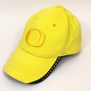 Nike Livestrong Oregon Ducks Yellow Baseball Cap